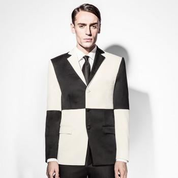 Squared Black White