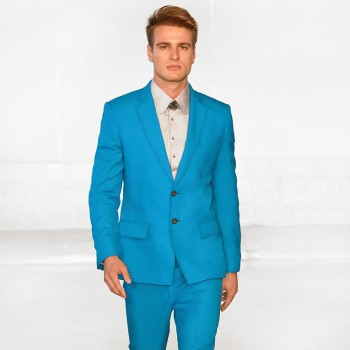 DARKOH SS2015 - Suit 11204 in Aqua
