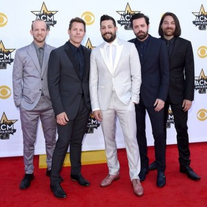 Old Dominion in DARKOH at 2015 ACM Awards