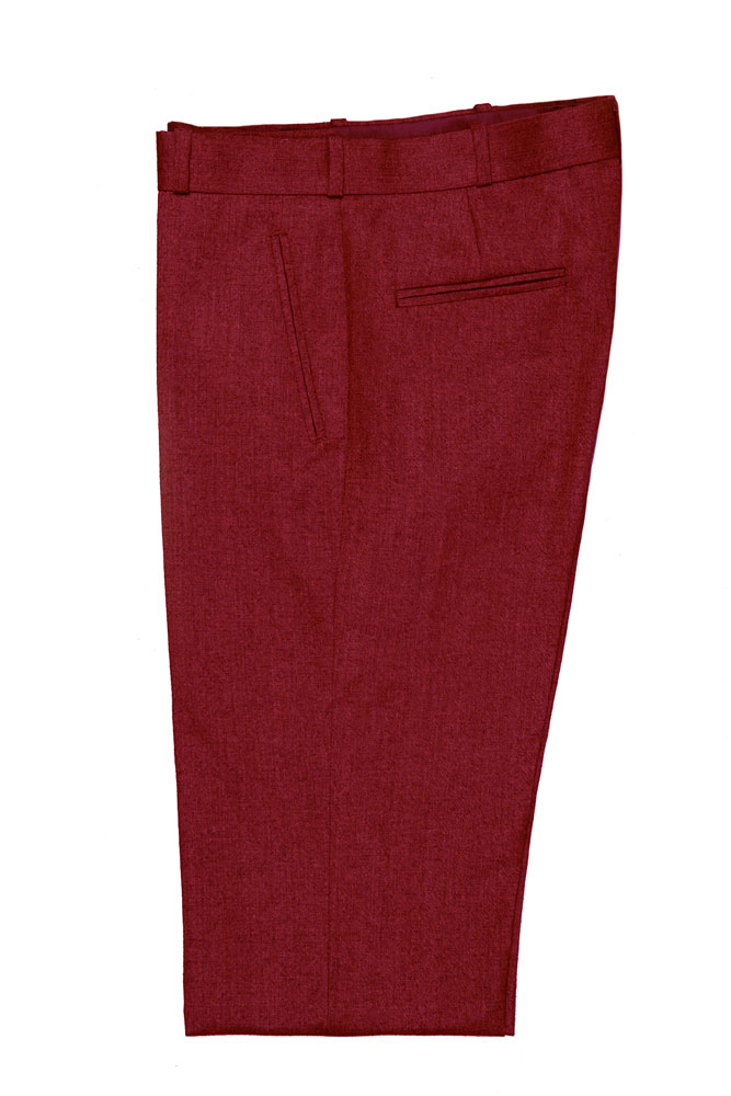 Brick Red Pants - FW15