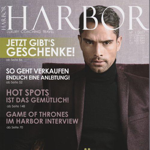 """DARKOH """"The Modernist"""" featured in HARBOR Magazine"""